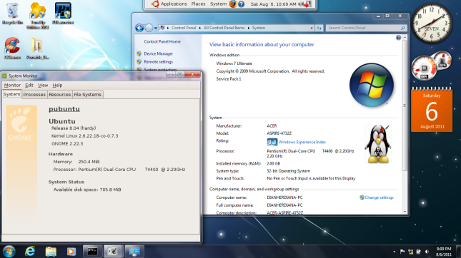 Cara Install Portable Ubuntu