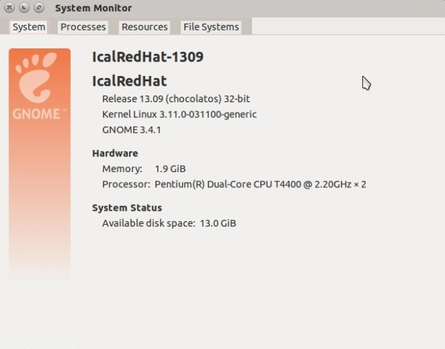 Kernel 3.11.0