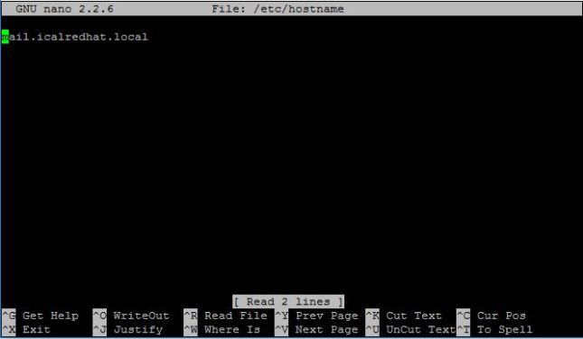 Konfigurasi Hostname Ubuntu