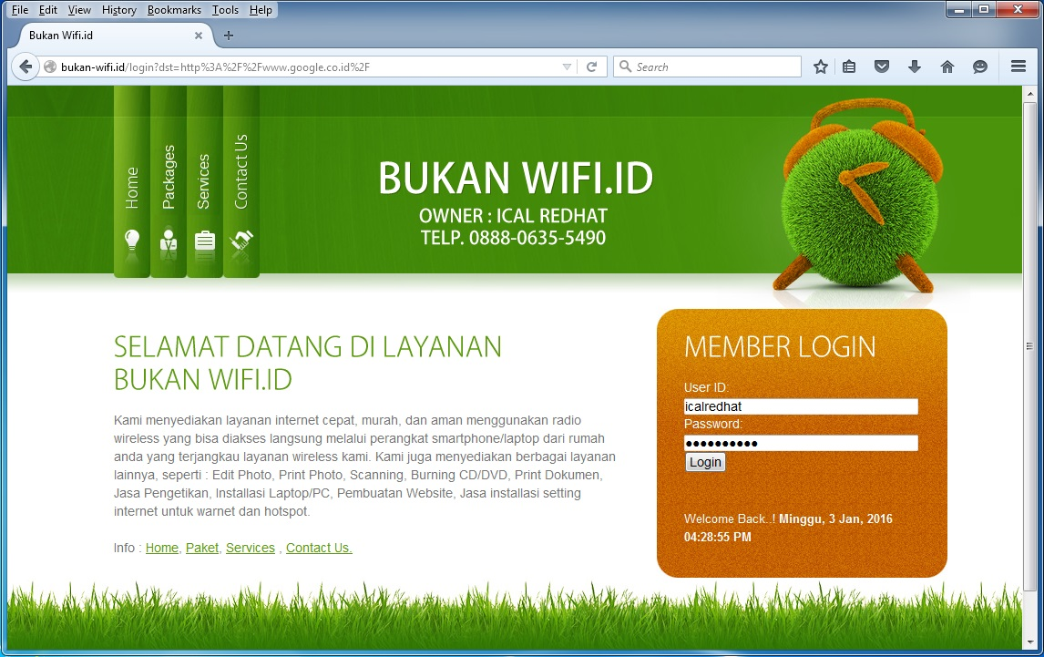 Download Template Login Page Hotspot MikroTik Gerakan Open Source