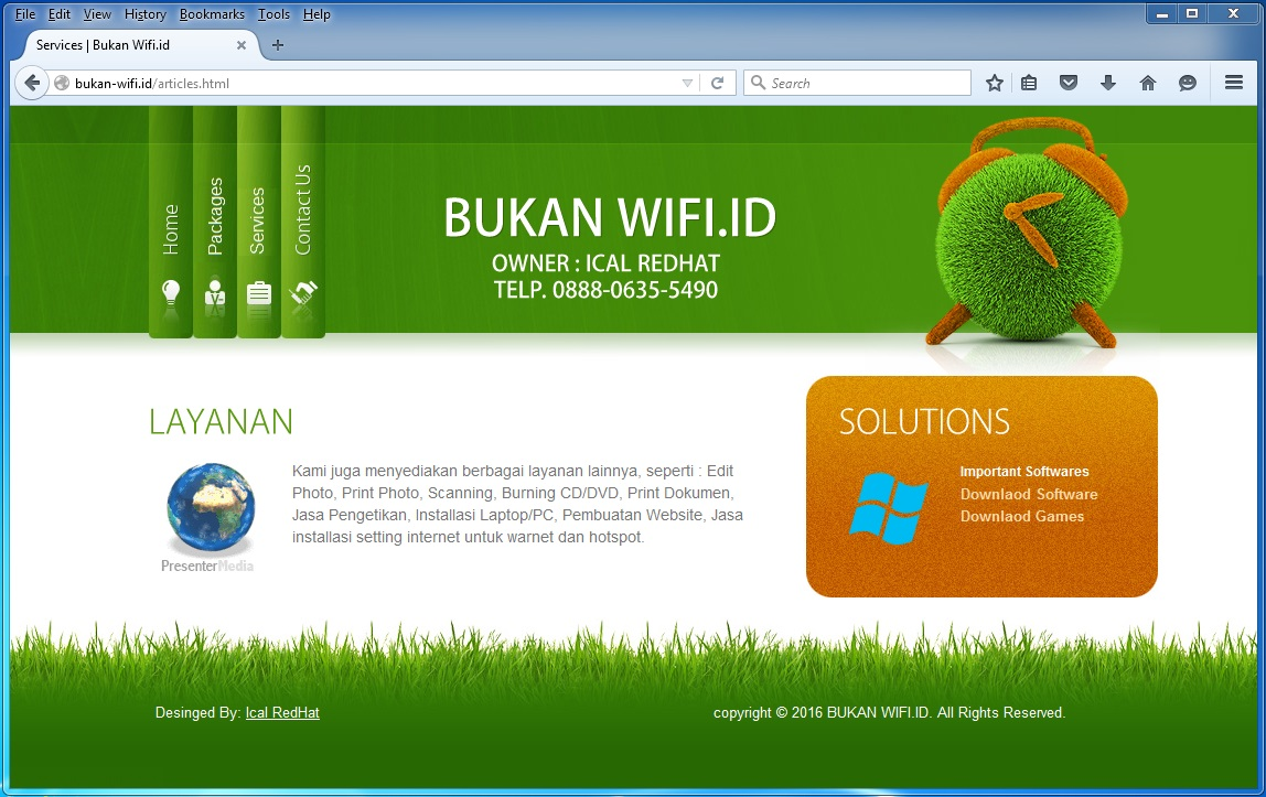 Download Template Login Page Hotspot MikroTik Gerakan