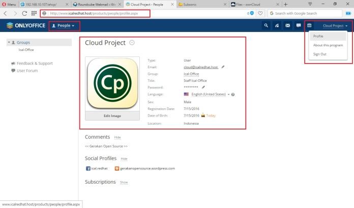 Membangun Web Office Menggunakan Aplikasi OnlyOffice Berbasis Cloud Lengkap