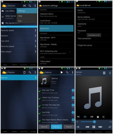 subsonic-streaming-android-device