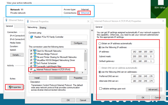 setting-ip-address-static-client
